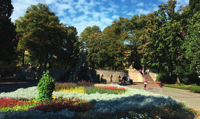 weinbrunnen rüdesheimer platz