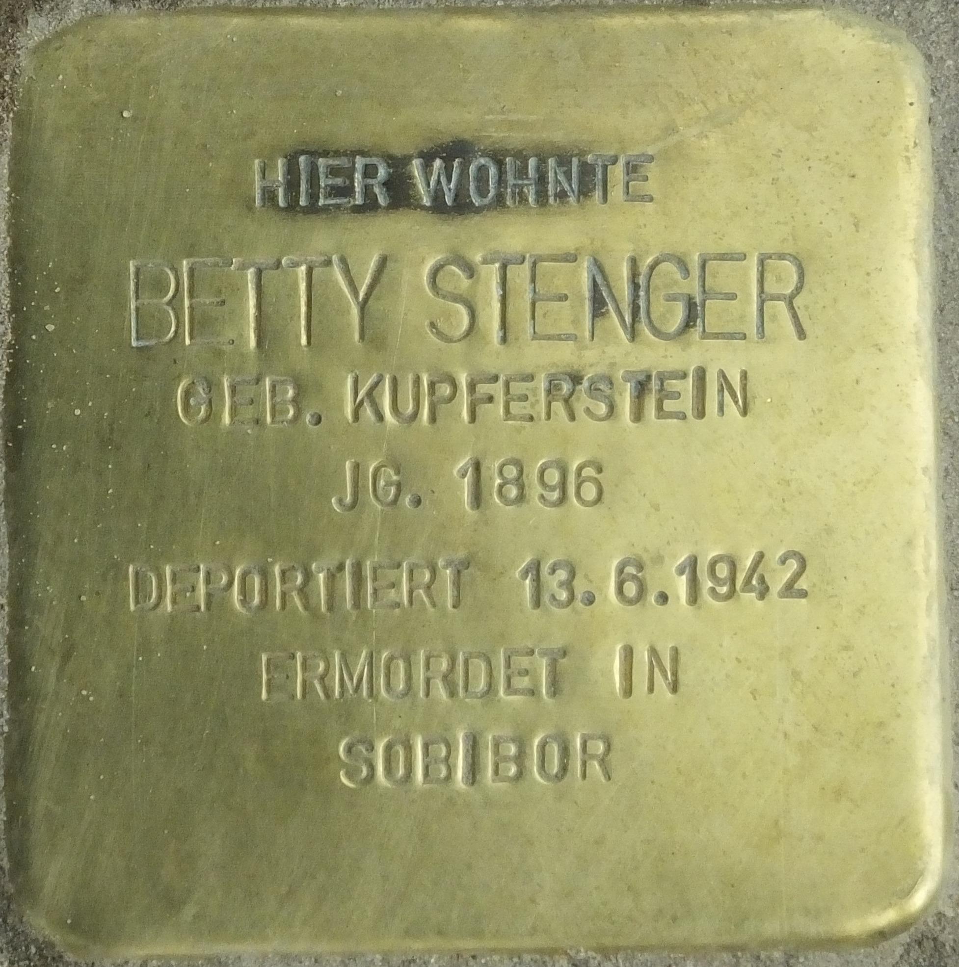 Stolpersteine Seesener Strasse 50 Berlin De