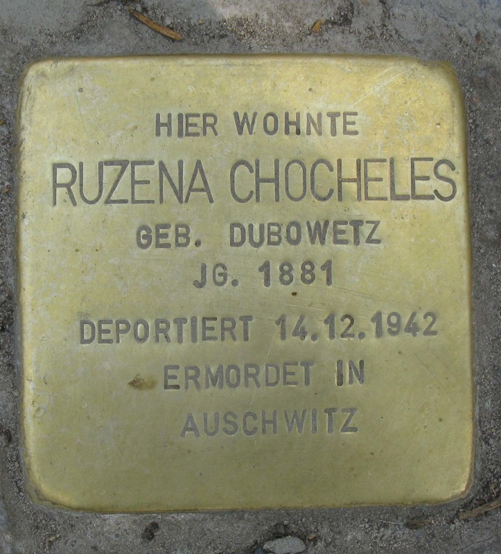 stolpersteine deidesheimer stra e 12. Black Bedroom Furniture Sets. Home Design Ideas