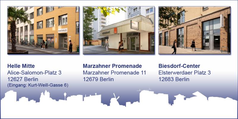 Commerzbank Marzahn Hellersdorf, Öffnungszeiten
