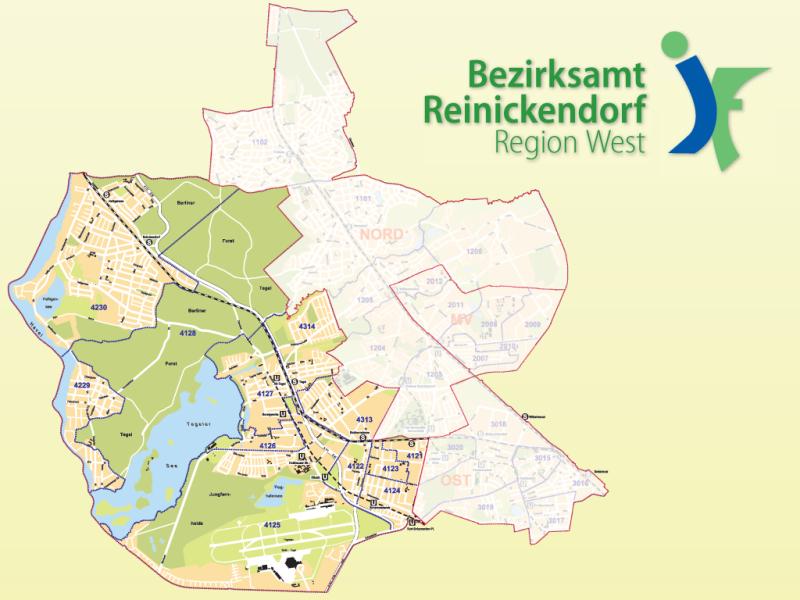 West Berlin Karte.Jugendamt Reinickendorf Region West Berlin De
