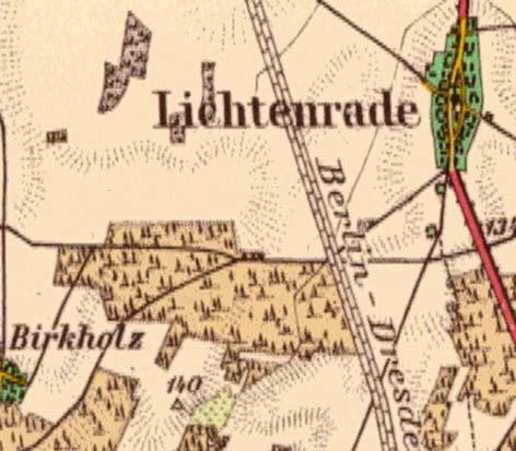Karte Berlin Lichtenrade.Ortsteil Lichtenrade Berlin De