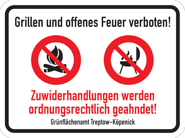 Grillen treptower park