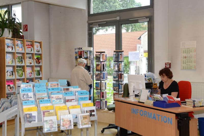 Bibliothek Mahlsdorf