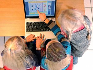 Kinder am PC