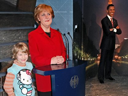 madame tussauds berlin 1 angela merkel bei madame tussauds. Black Bedroom Furniture Sets. Home Design Ideas