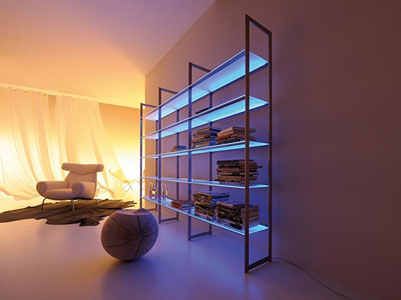 m bel leuchten mit leds. Black Bedroom Furniture Sets. Home Design Ideas