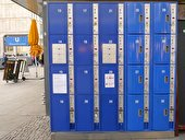 !Lockers at Alexanderplatz