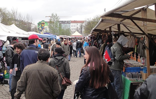 Flea Market at Mauerpark