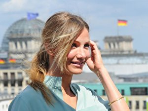 Cameron Diaz in Berlin