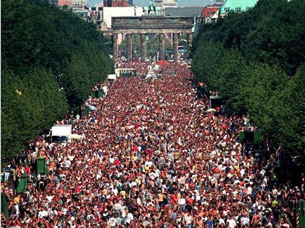 Loveparade in Berlin