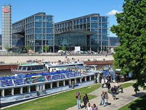 River cruise in Berlin