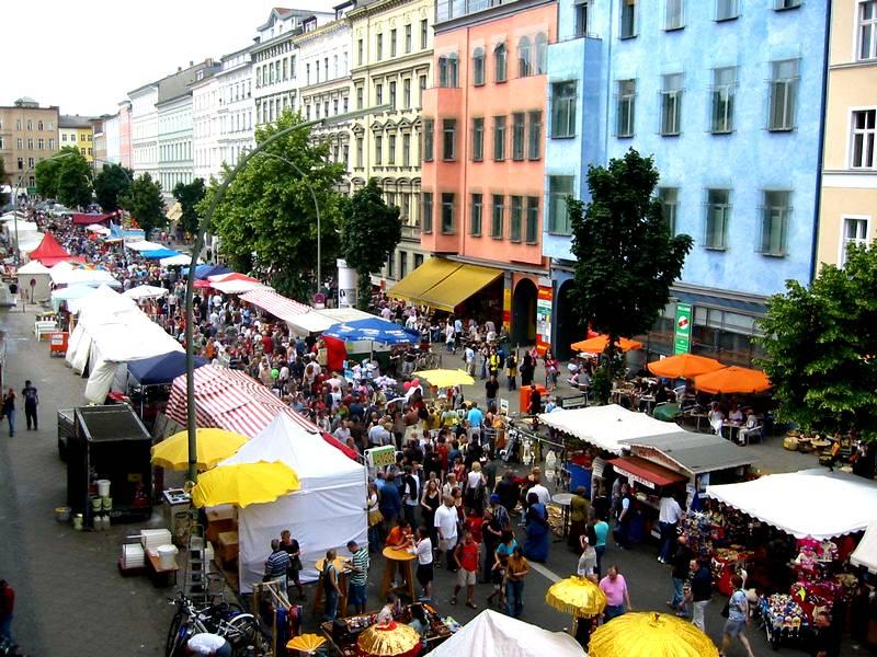 Bergmannstraßenfest (Festival at Bergmannstraße)