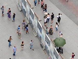 Berliner Mauer auf Potsdamer Platz