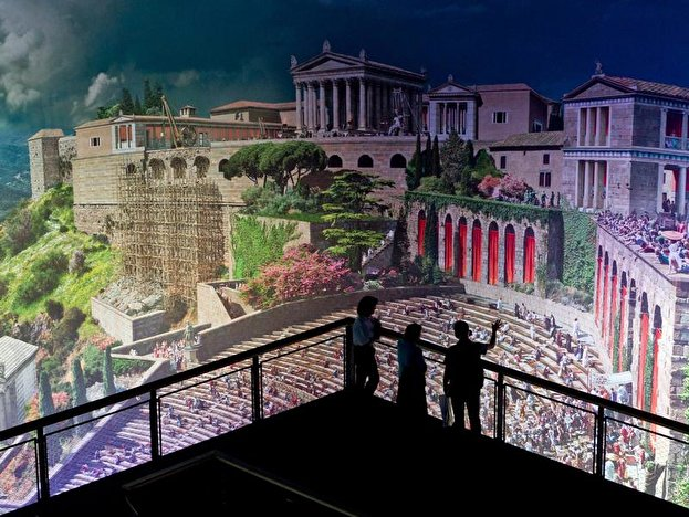 Panorama in Pergamon Museum