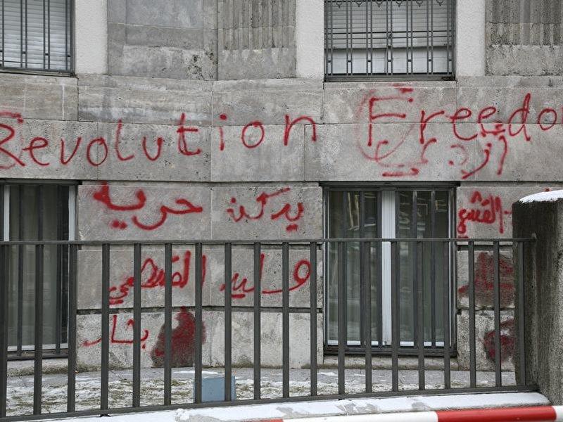 Syrische botschaft in berlin