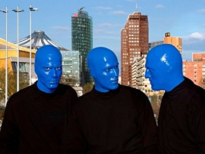 blaum nner gesucht offenes casting der blue man group. Black Bedroom Furniture Sets. Home Design Ideas
