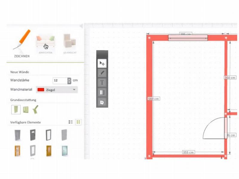 einrichtungssoftware kostenlos und in 3d die wohnung planen. Black Bedroom Furniture Sets. Home Design Ideas