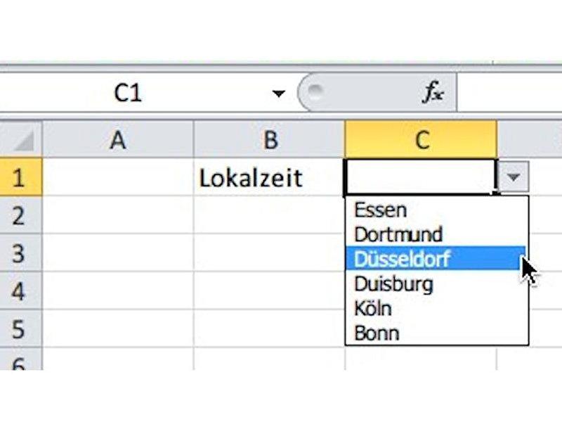 Excel: Eine Auswahlliste einfügen – Berlin.de