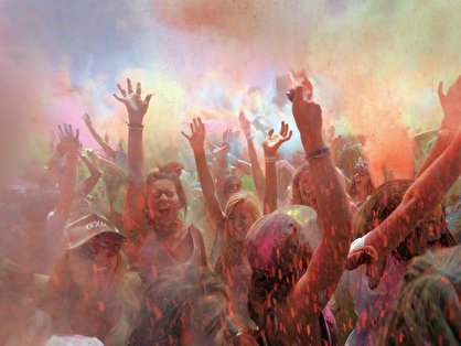 Holi Festival Of Colours in Berlin