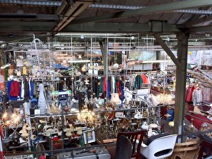 Indoor Flea Market at Arena Berlin