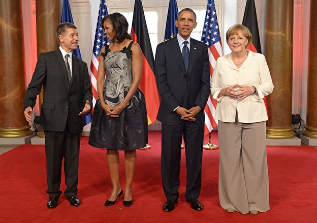 Obama-Dinner im Schloss Charlottenburg (19.06.2013)