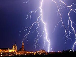 Potz lightning and thunderstorm