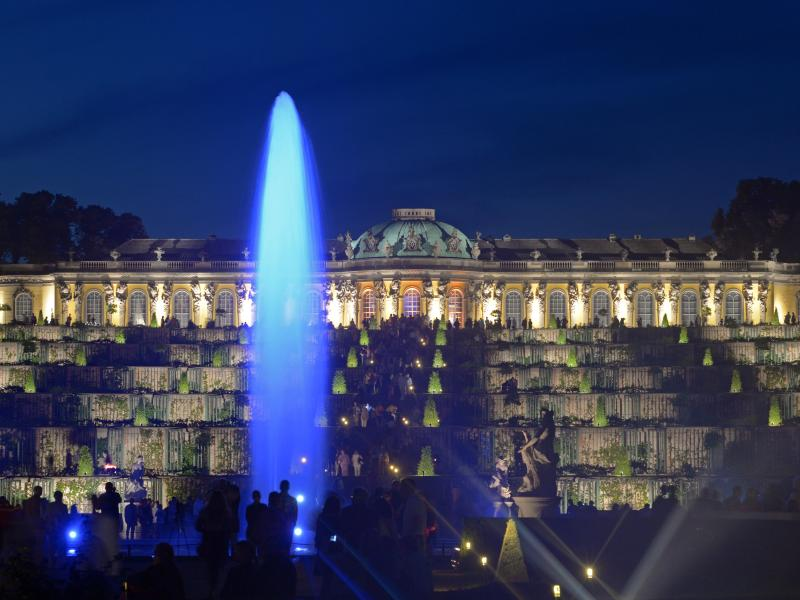 Potsdam Palace Night