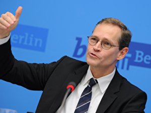 Berlin's Governing Mayor Michael Müller (SPD)