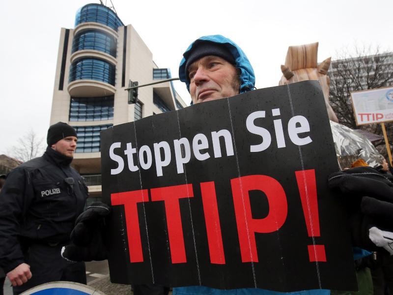 Gegen Freihandelsabkommen