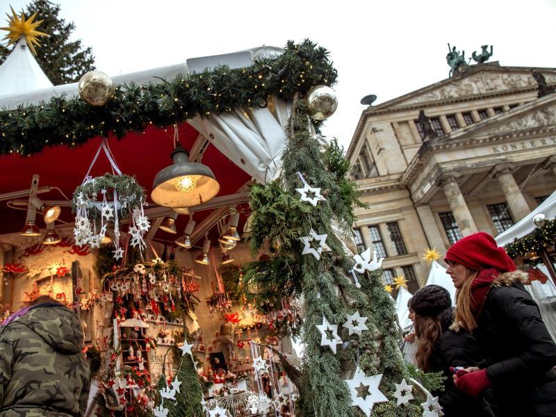 Christmas market at Gendarmenmarkt cancelled