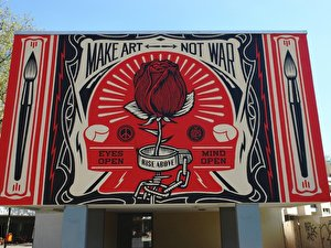 Shepard Fairey: Make Art Not War