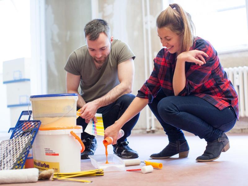 w nde streichen wie die profis sieben tipps. Black Bedroom Furniture Sets. Home Design Ideas