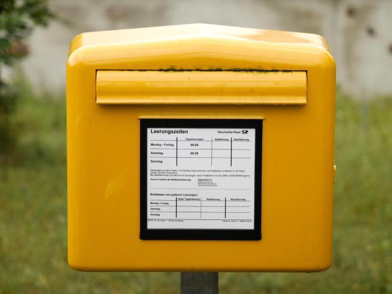 Post Briefkasten Leerungszeiten