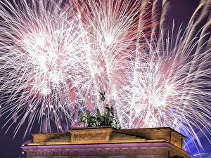 Silvester 2016 am Brandenburger Tor