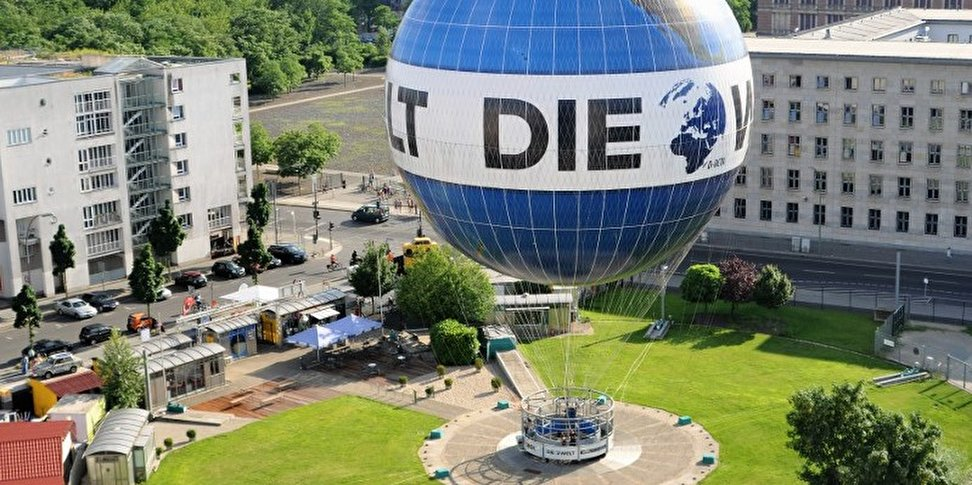 Welt Balloon Discover Berlin From Above In A Captive Balloon