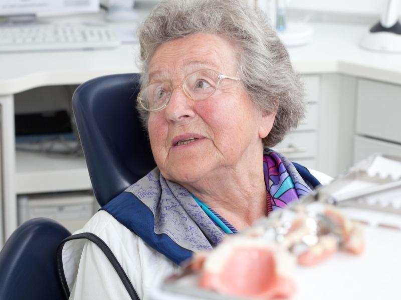Nachts tragen zahnprothese Zahnprothesen und