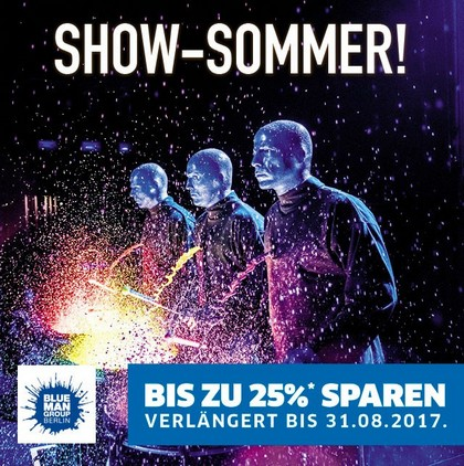 Blue Man Group - Frühbucher-Spezial
