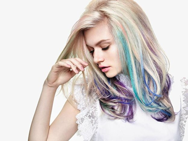 Rainbow Hair Jetzt Wirds Bunt Berlinde