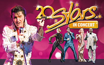 Stars in Concert - Jubiläums-Show am 10.09.2016