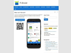 Android-Apps von F-Droid