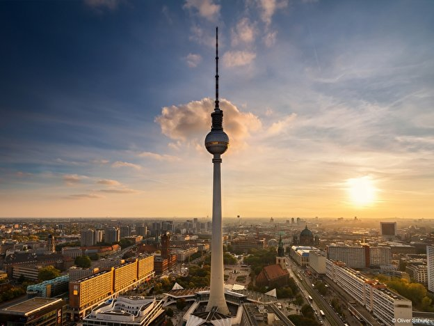 Berlin Tv Tower Berlinde