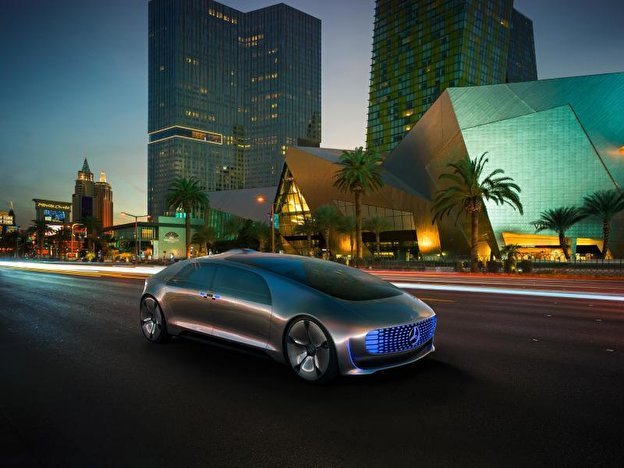 F 015 Luxury von Mercedes