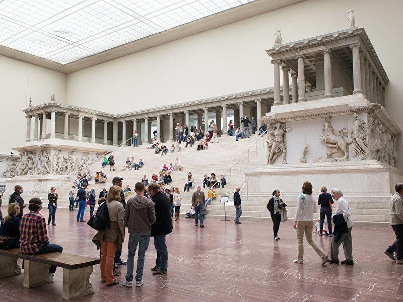 Пергамон музей в берлине официальный сайт
