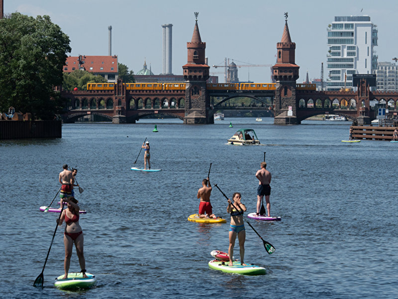 Hot weekend with temperatures up to 32 degrees