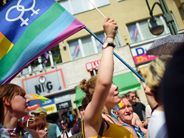 Parade zum Christopher Street Day