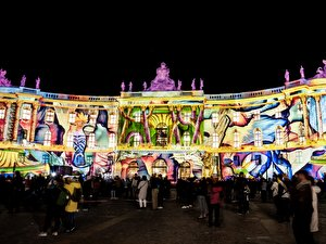 Alte Bibliothek - Festival of Lights 2018