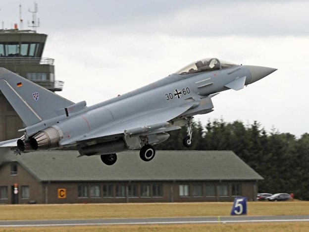 Eurofighter in Laage