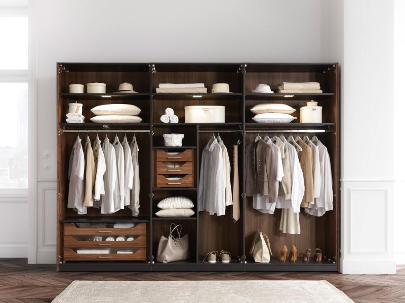 Kleiderschrank Richtig Planen Und Einräumen