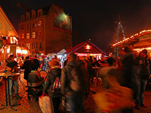 Christmas Market at Schlossplatz in Köpenick